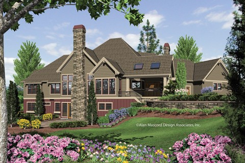 Image for Tasseler-Large One Story Plan with Walk-out Basement-801