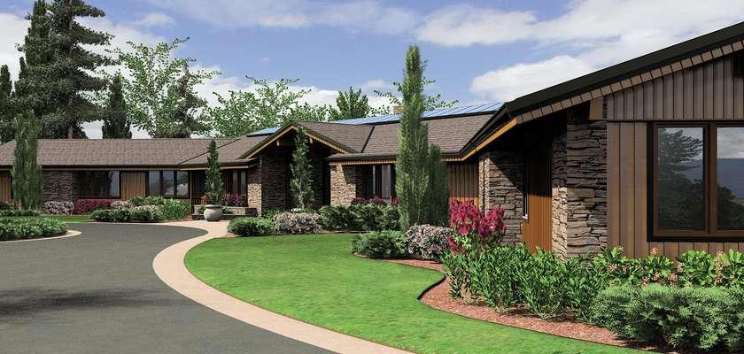 Mascord House Plan 1412: The Harrisburg