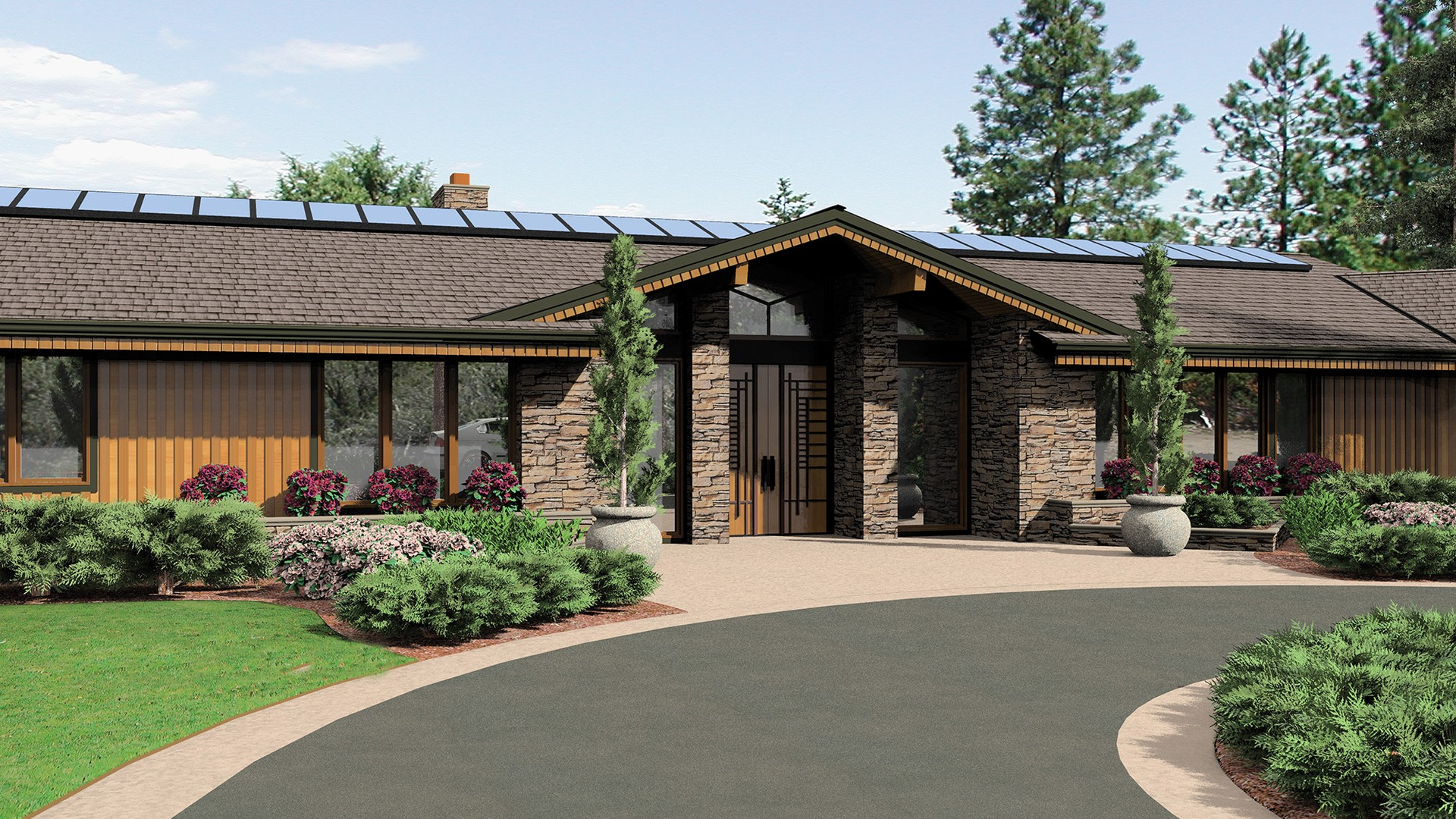 Contemporary house plan 1412 the harrisburg 5628 sqft 5 for Houseplans co