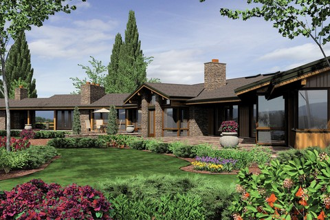 Image for Harrisburg-Prairie Home with Multiple Wings and Attached Studio-858