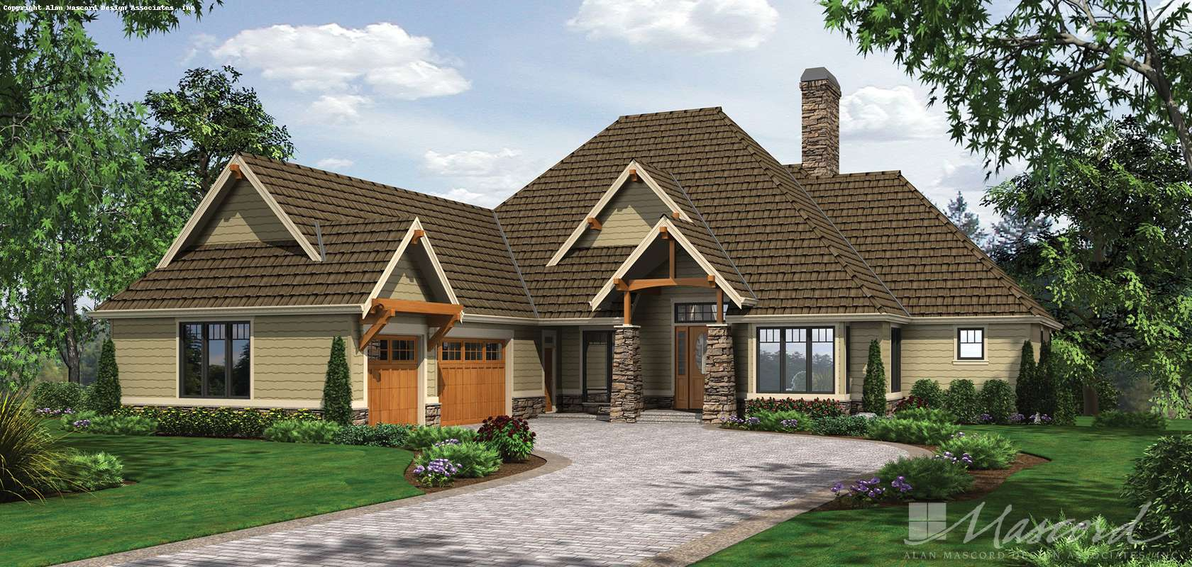 Mascord House Plan 1413: The Lambert