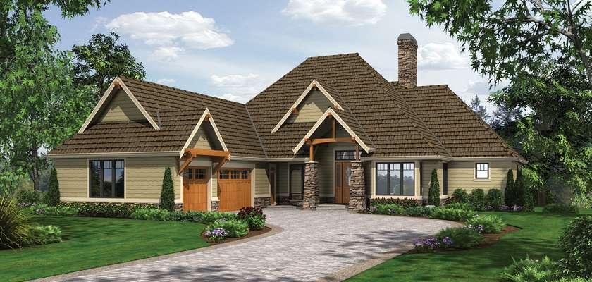 Mascord House Plan 1413: The Lambert