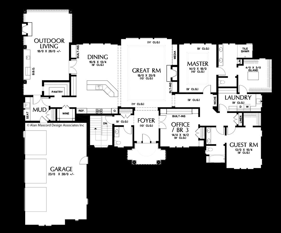 mascord house plan 1415 the bremen