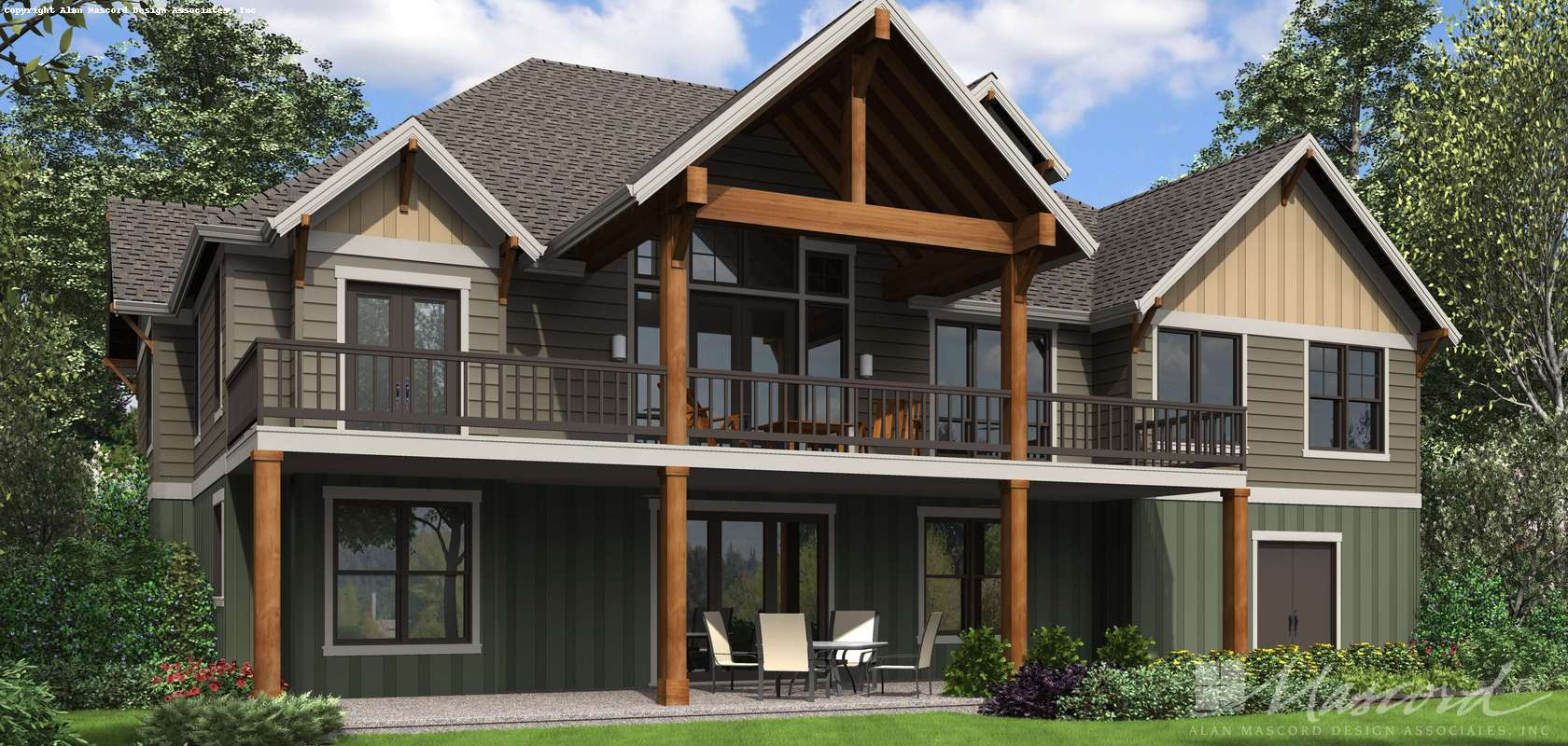 Mascord House Plan 1416: The St Louis