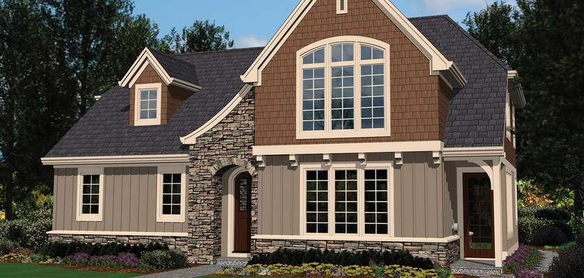 Mascord House Plan 2102AC: The DuMont