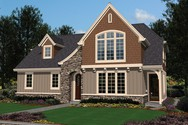 Front Rendering of Mascord House Plan 2102AC - The DuMont