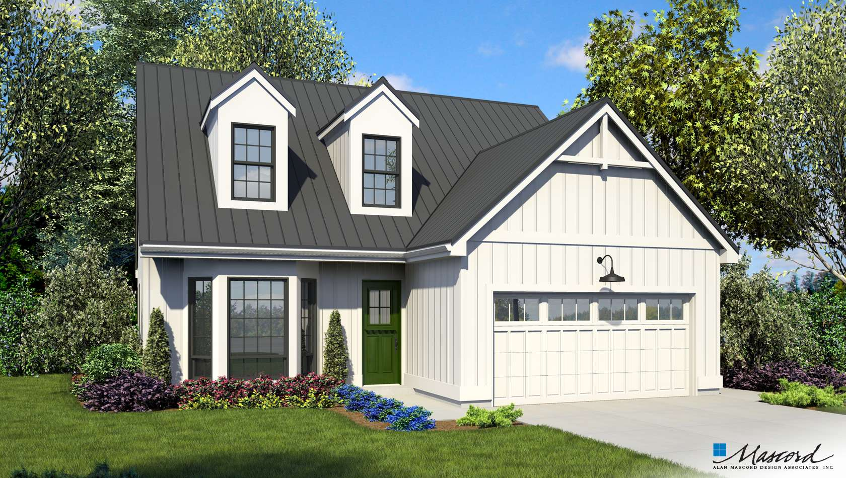 Main image for house plan B2106: The Hadley