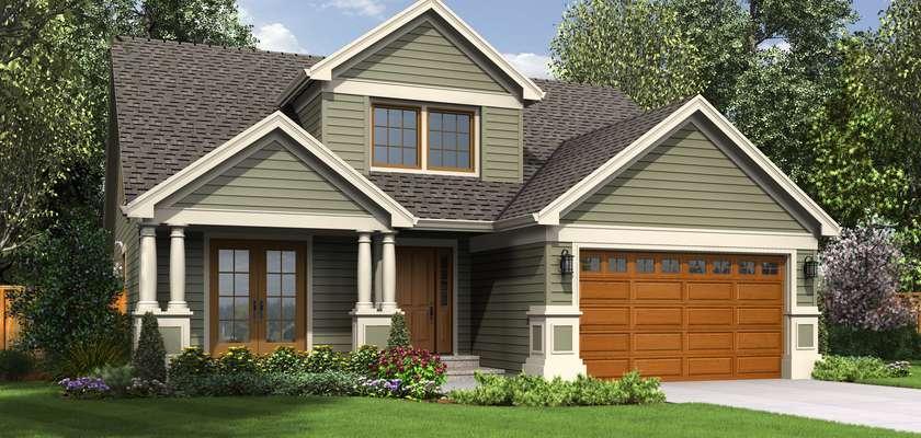 Mascord House Plan B2106C: The Wellborn