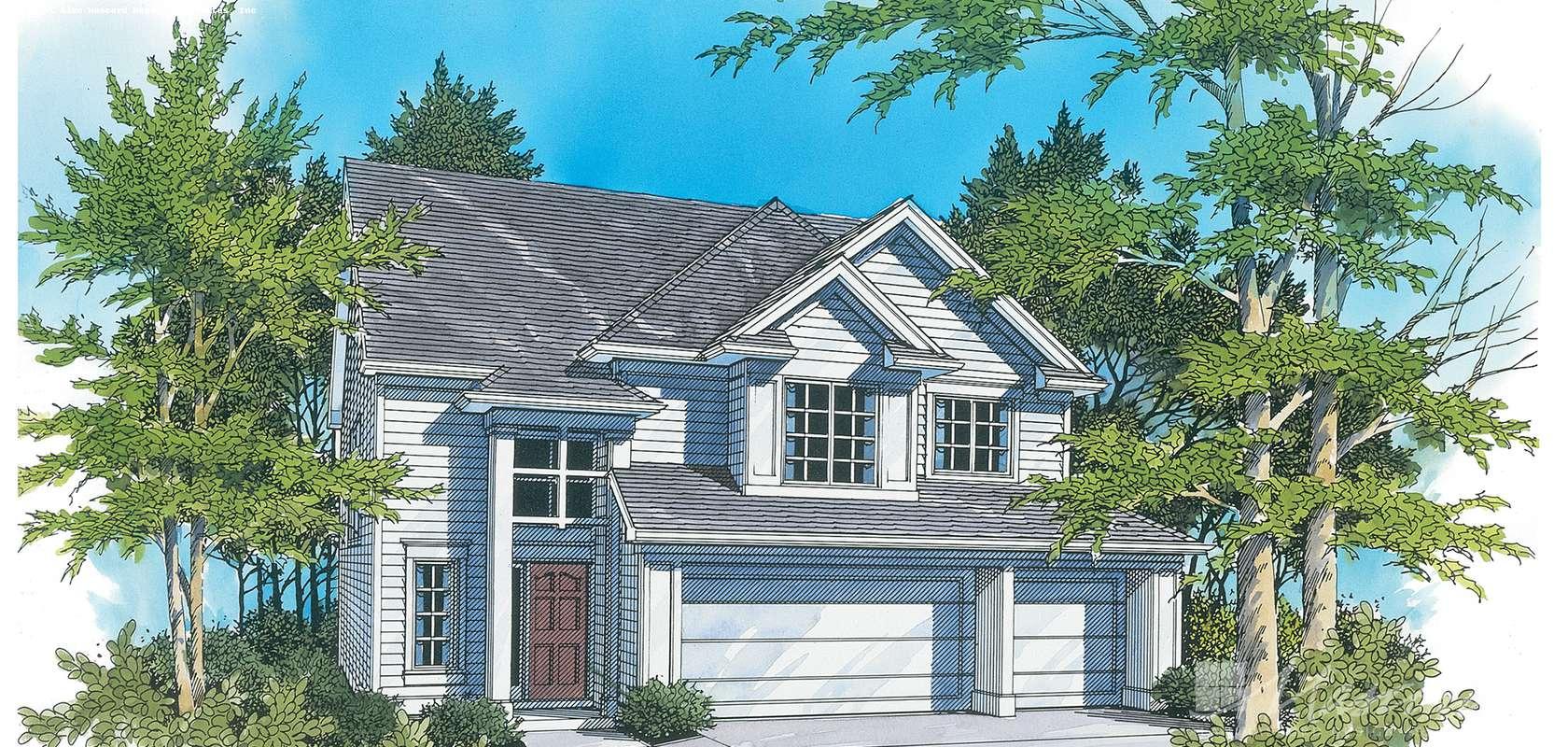Mascord House Plan 2108: The Burgess