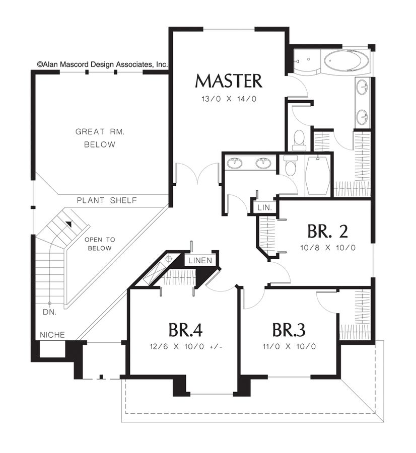 Kitchen Floor Plans With Dimensions 8 X 12 Yptzautc: Traditional House Plan 2108 The Burgess: 1975 Sqft, 4 Beds