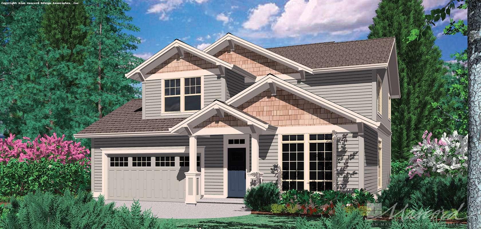 Mascord House Plan B21101: The Connolly