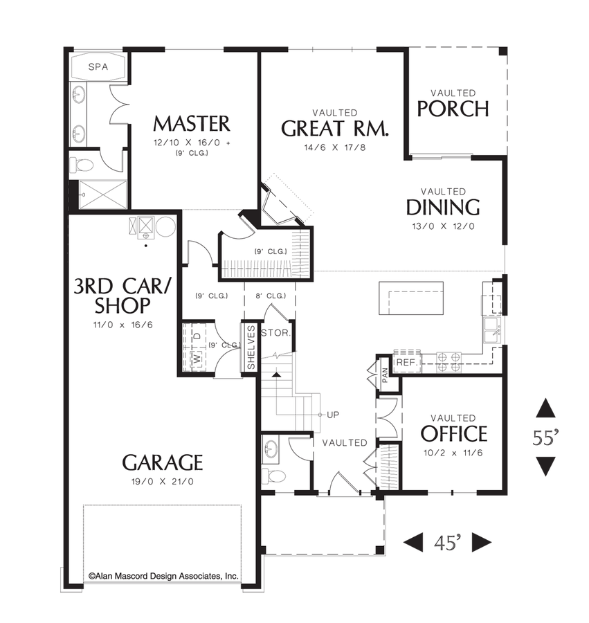 Empty nester house plans shannon house plan 2nd floor for Empty nester home plans designs