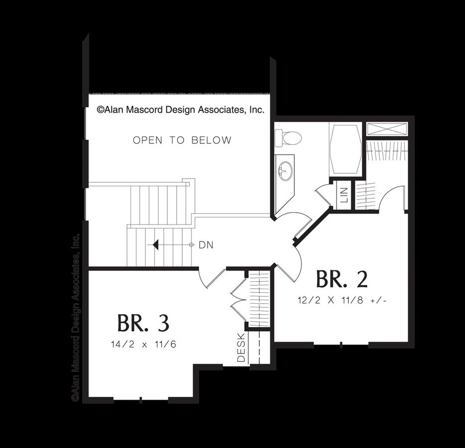 Craftsman House Plan 21104a The Prescott 1896 Sqft 3