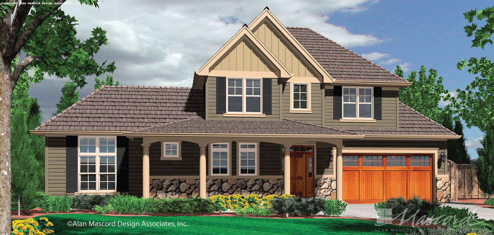 Mascord House Plan B21104A: The