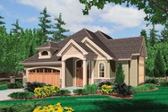 Front Rendering of Mascord House Plan 21106 - The Richmond