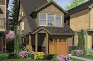 Front Rendering of Mascord House Plan 21108 - The Wedgewood