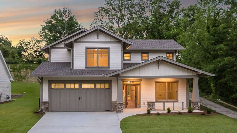 Craftsman house plan b21111a the brentwood 2002 sqft 3 for Brentwood house plan