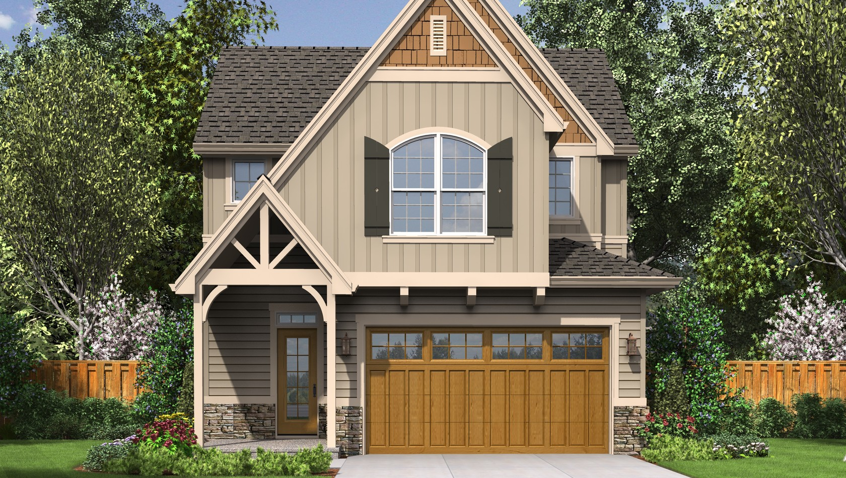 Main image for house plan 21112: The Gilmore