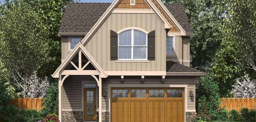 Mascord House Plan B21112: The