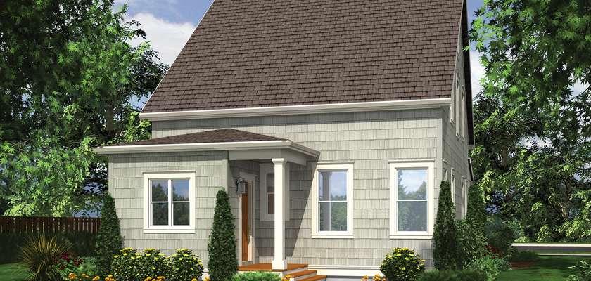 Mascord House Plan 21115: The Osprey