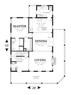Image for Osprey-Open Floor Plan and Media Room-Main Floor Plan