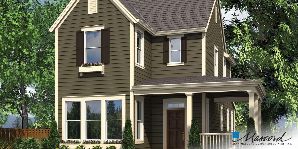 Mascord house plan 21116 the sullivan for Sullivan house plans