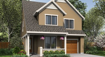 Sunnycrest Small Cottage House Plans 21127  | The Sunnycrest: Small House Plans with Cottage Charm