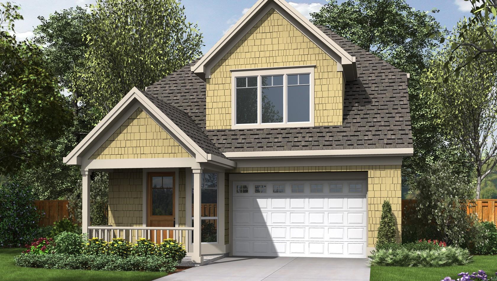 Main image for house plan 21130: The Shaftbury