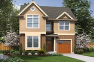 Front Rendering of Mascord House Plan 21131 - The Reading