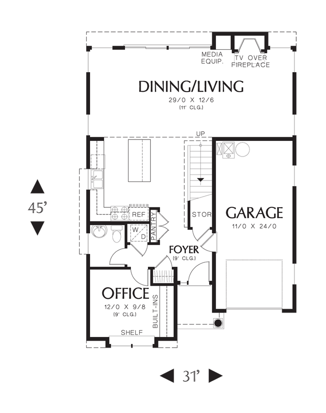 House plan 21131 the reading for Reading floor plans