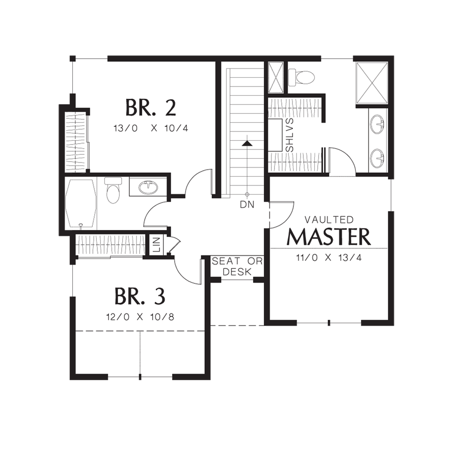 Cottage house plan 21131 the reading 1660 sqft 3 for Reading a floor plan