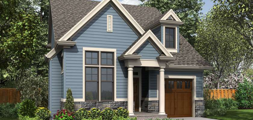 Mascord House Plan 21132: The Dunstable