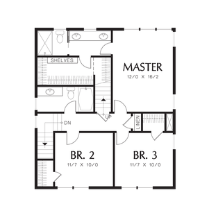 Image for Darlington-The Perfect Seaside Cottage or Starter Home -Upper Floor Plan