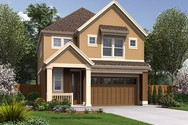 Front Rendering of Mascord House Plan 21136B - The Waldsport