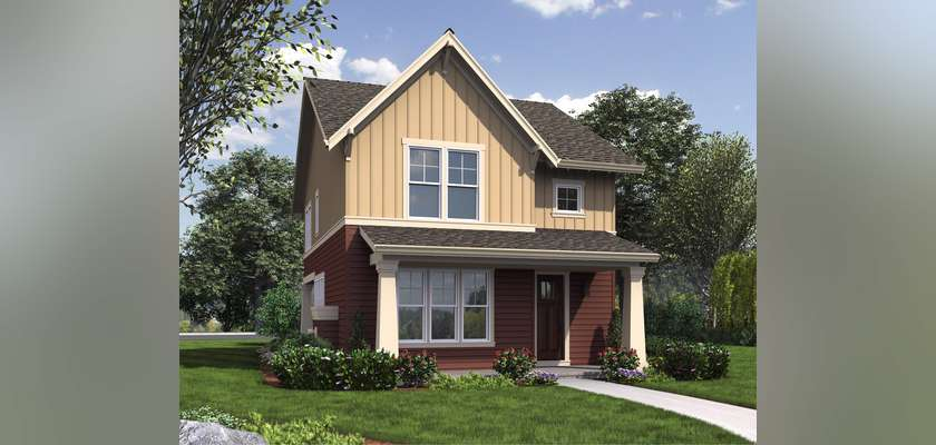 Mascord House Plan 21142: The Florette