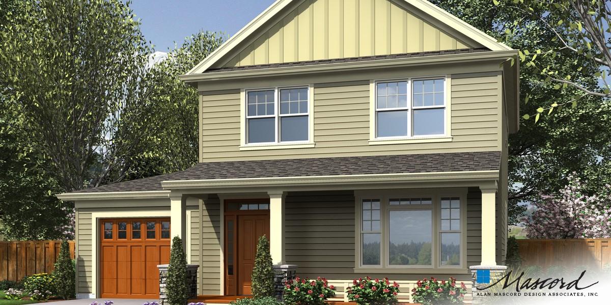 Mascord House Plan 21143