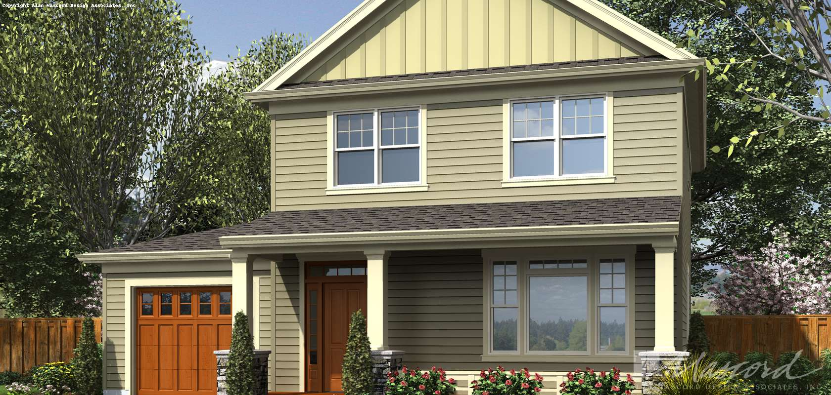 Mascord House Plan 21143: The Gabriel