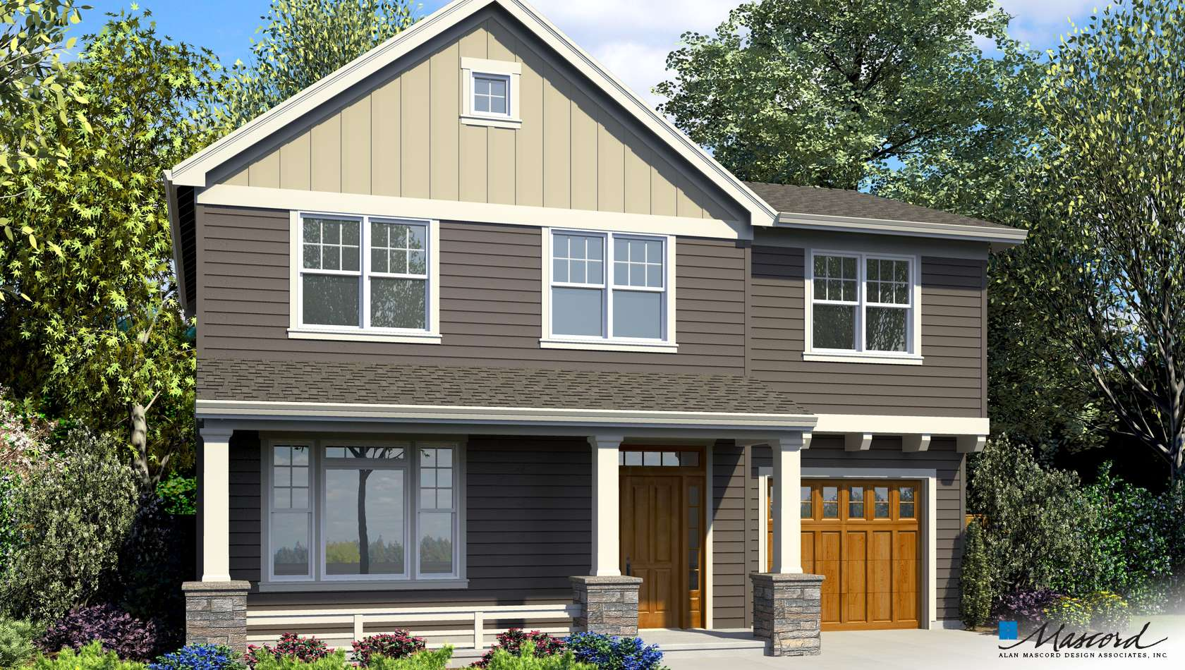Main image for house plan 21143B: The Alexandria