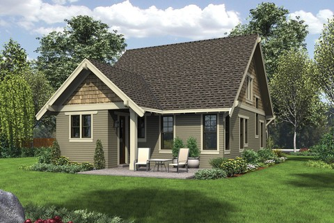 Image for Morris-Craftsman Bungalow with Open Floor Plan and Loft-5727