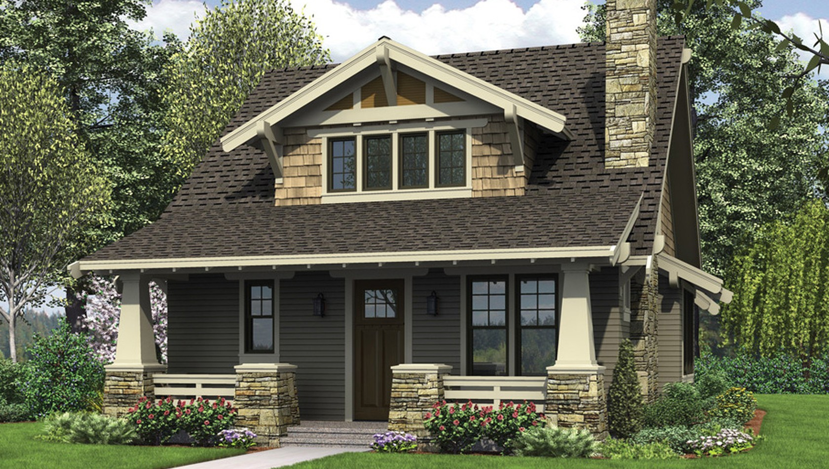 Main image for house plan 21145: The Morris