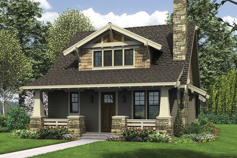 Image for Morris-Craftsman Bungalow with Open Floor Plan and Loft-5726