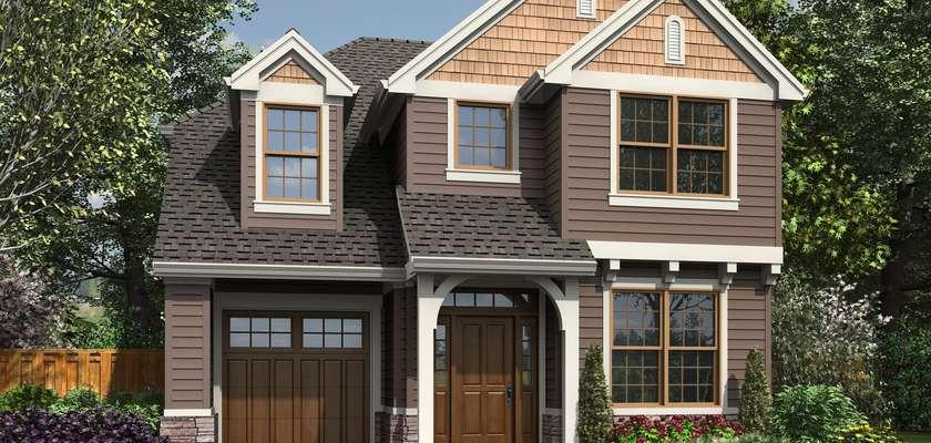Mascord House Plan 21147: The Monson