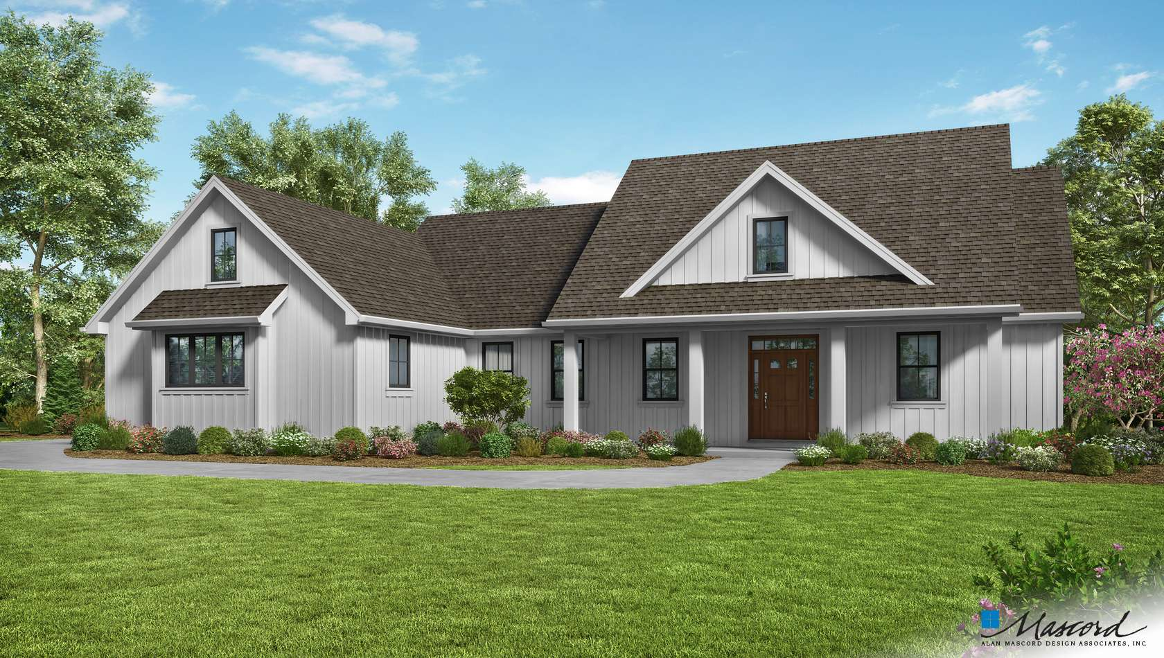 Main image for house plan 21151: The  Cary