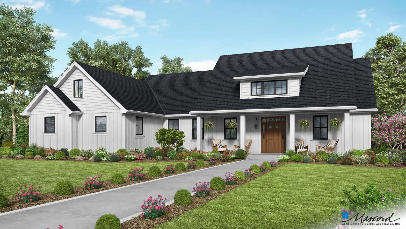 Main image for house plan 21151A: The Cary
