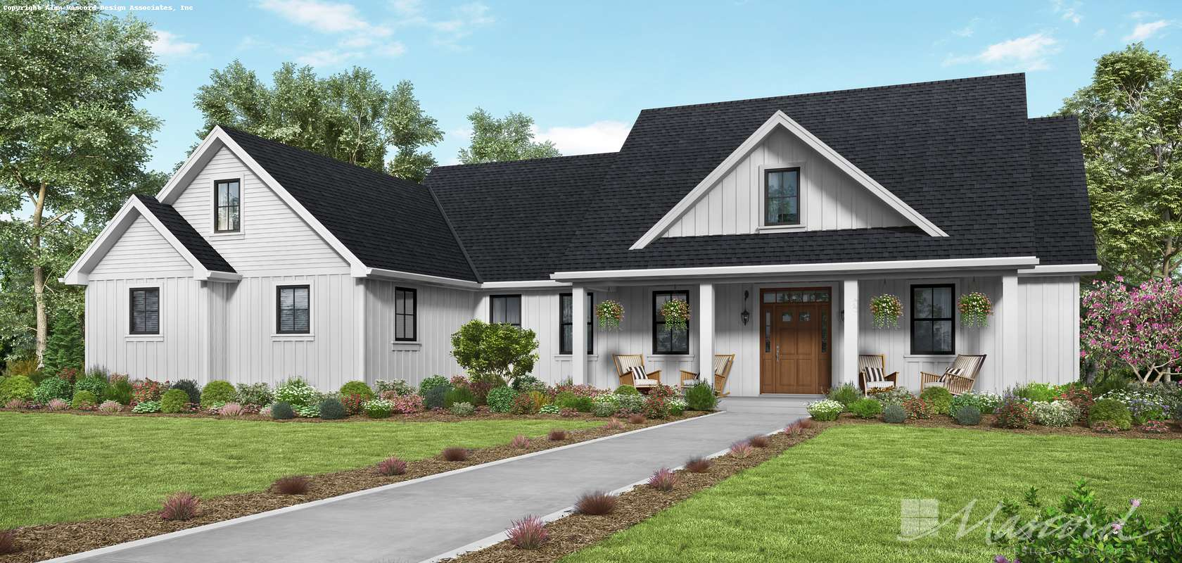 Mascord House Plan 21151AA: The Carywood