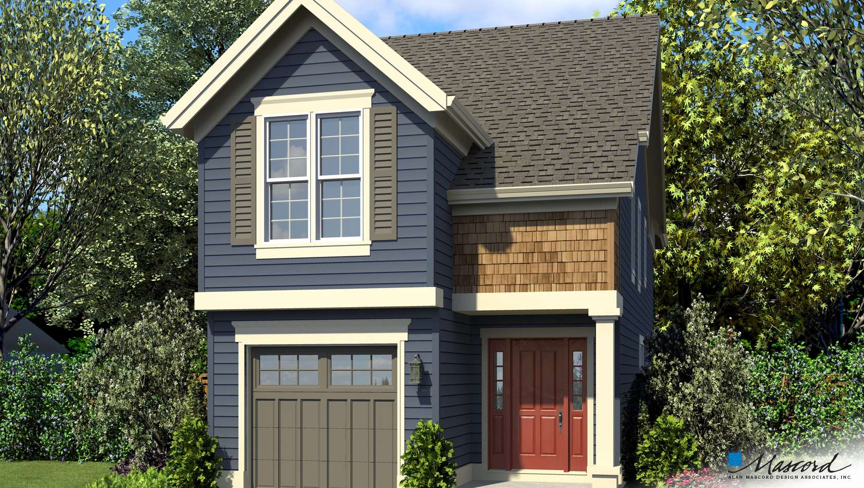 Main image for house plan 21152: The Walterboro