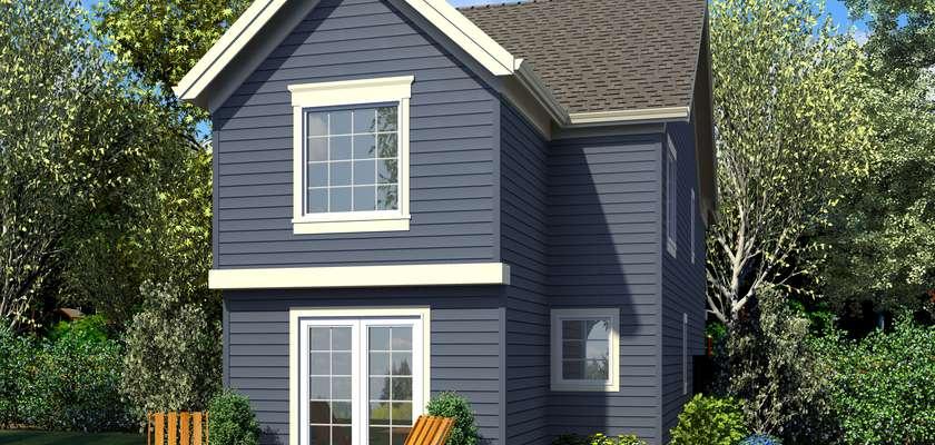 Mascord House Plan 21152: The Walterboro