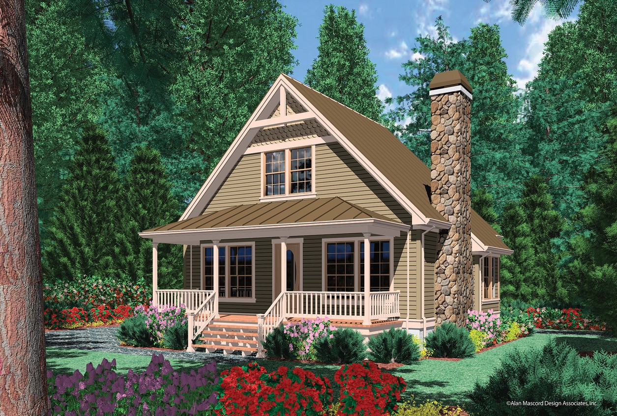 Vacation home cabin plans home design and style for Vacation home plans