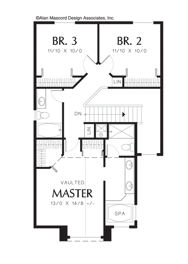 Traditional House Plan 2116b The Donovan 1726 Sqft 3 Beds 2 1 Baths