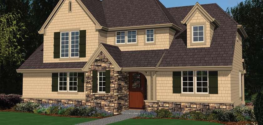 Mascord House Plan 2137BA: The Bailey